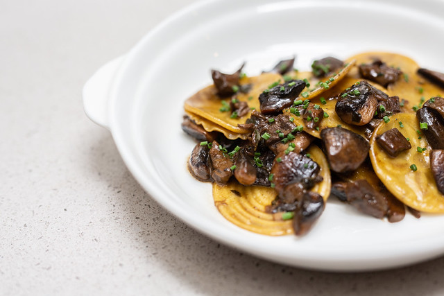 CORZETTI - porcini and button mushrooms, marsala wine