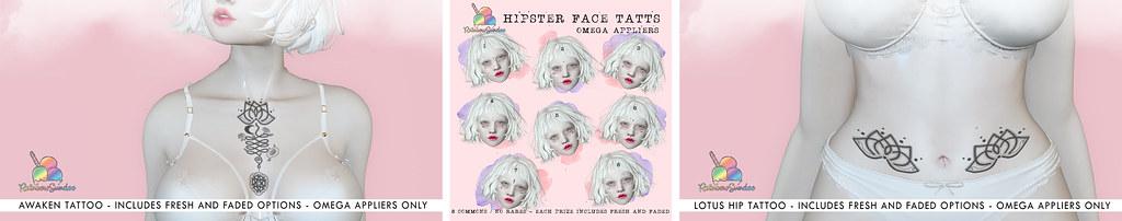 *Rainbow Sundae* for Hipster Fair