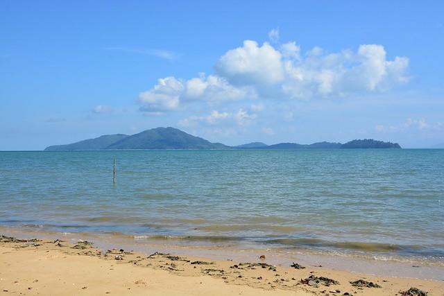 View on Ko Chang and Ranong coastline (Ko Phayam, Thailand 2018)