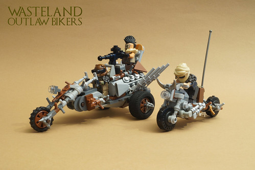 Wasteland Outlaw Bikers | by Dr. Zarkow