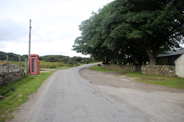 The A838 at Eriboll Farm