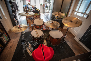 "Mapex Saturn III ""Manhatten"" in Transparrent Walnut 