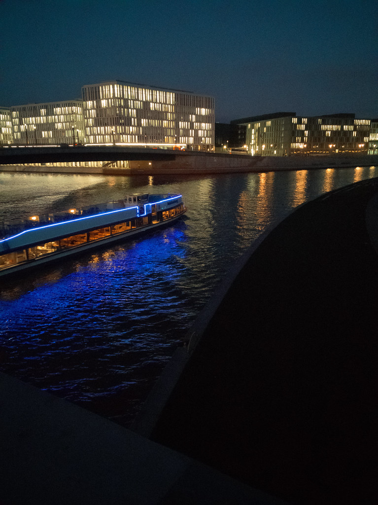 Stadt, Nacht, Fluss - #1