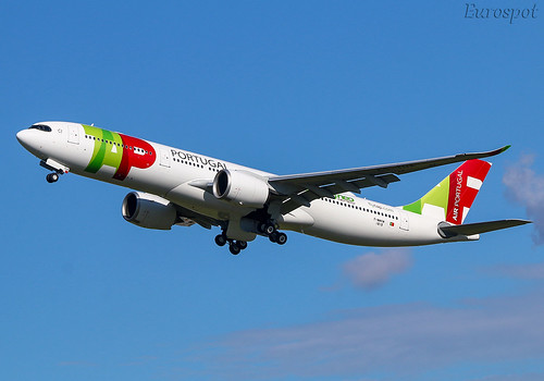 F-WWKM Airbus A330 Neo Air Portugal | by @Eurospot