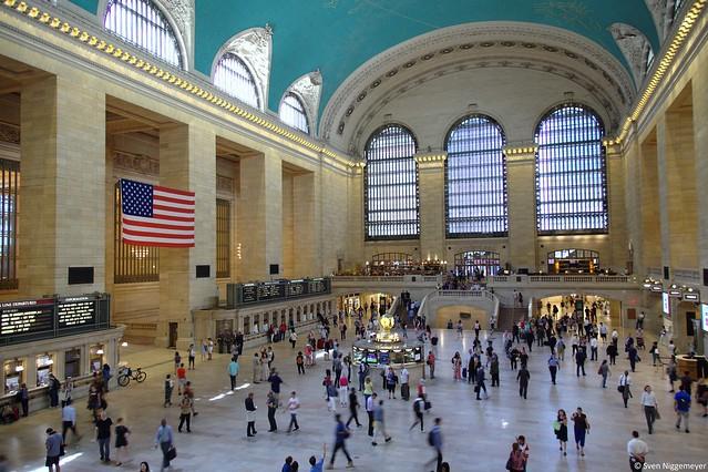 Hauptbahnhof von New York am 25.06.18