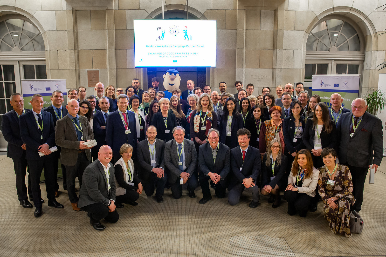 05/03/2019 - 22:54 - The Healthy Workplaces Campaign partner event took place on 5th and 6th of March 2019 in Brussels. The participants shared their experiences on a range of OSH-related subjects: Effective communication, Carcinogens - Multidisciplinary collaboration, Environment, Risk assessment. A special highlight was the ceremony on the occasion of the 10th anniversary of EU-OSHA's campaign partnership scheme and hand-over of certificates.