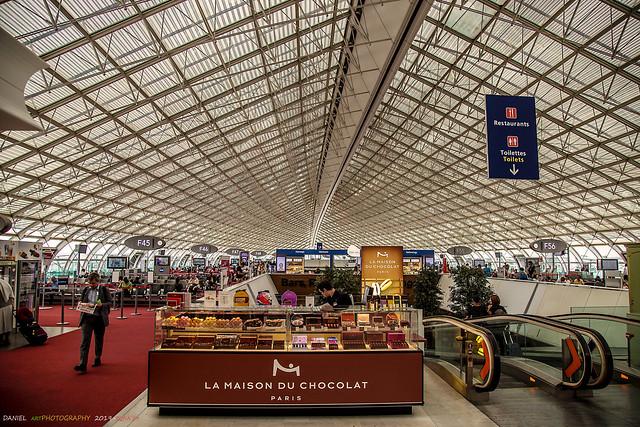 Terminal de embarque, Aereopuerto Charles de Gaulle,Paris