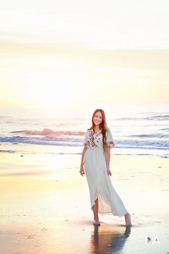 sonyalpha usa sunrise southcarolina dawn sony myrtlebeach mirrorless beach girl woman dustinabbott atlanticocean apsc travel portrait photography sigmadn56mmf14contemporary dustinabbottnet thousandwordimages sonya6400 2019 review photodujour unitedstatesofamerica us