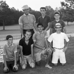 FAWELLS Golf Team with Coach Welch  cir 1960s