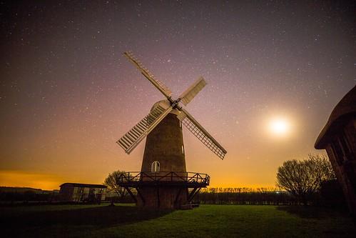 wilton wiltonwindmill windmill tower mill night greatbedwyn wiltshire england canon 5d ebalch