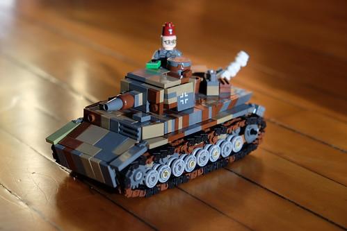 <>Panzer IV ausf C<>SS Mountain Camo<>