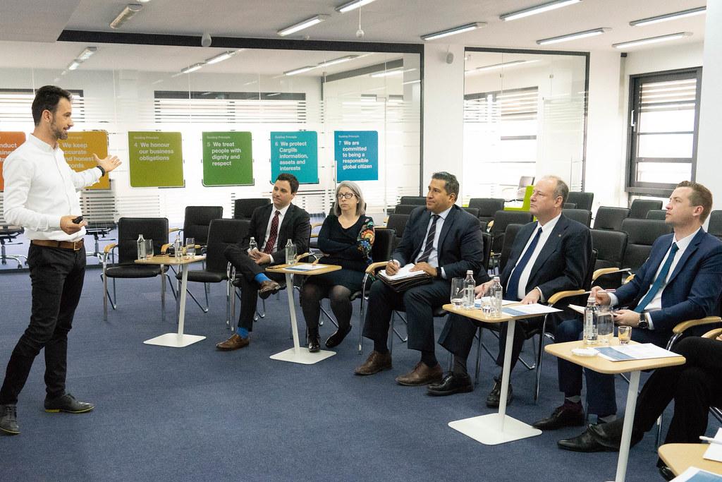 Ambassador Rubin Visits U.S. Company Cargill Facilities in Varna