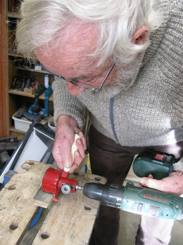 105. Building a Hebridean wind-vane self-steering system - cheers Dad - 4