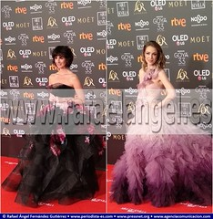 Premios Goya 2019 . 2019 Goya Prizes. Paz Vega y Silvia Abascal, Actrices.