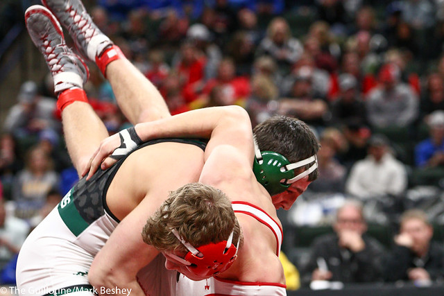 195AAA 3rd Place Match - Rowan Morgan (Mounds View) 37-4 won by fall over Joey Johnson (Shakopee) 37-8 (Fall 0:36) - 190302cmk0209