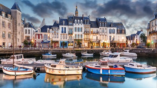France - Le-Croisic-Town-Boats-Yachts | by monte-leone