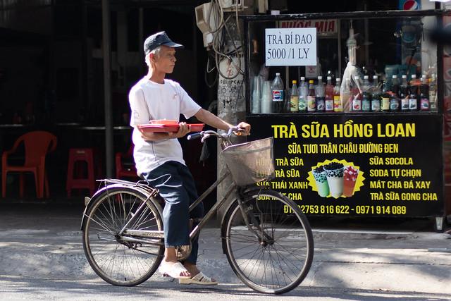 Delivery Guy. Ben Tre, Vietnam