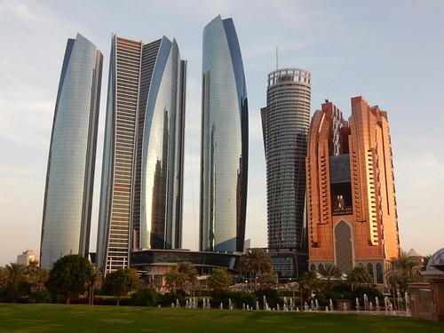 Abu Dhabi - Etihad Towers - 2