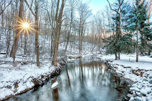 real estate landscape winter sunrise pennsylvania brogue york county
