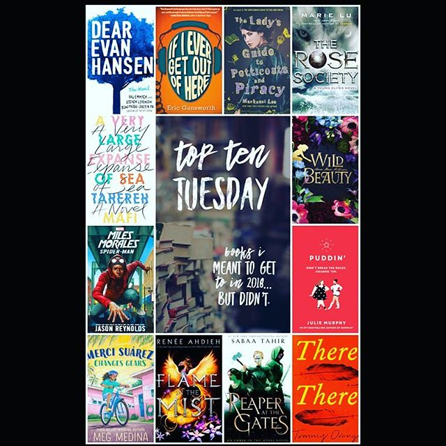 #TopTenTuesday: Books I meant to read in 2018, but didn't.