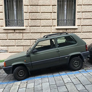 #Genova #fiatpanda #camouflage | by jonworth-eu