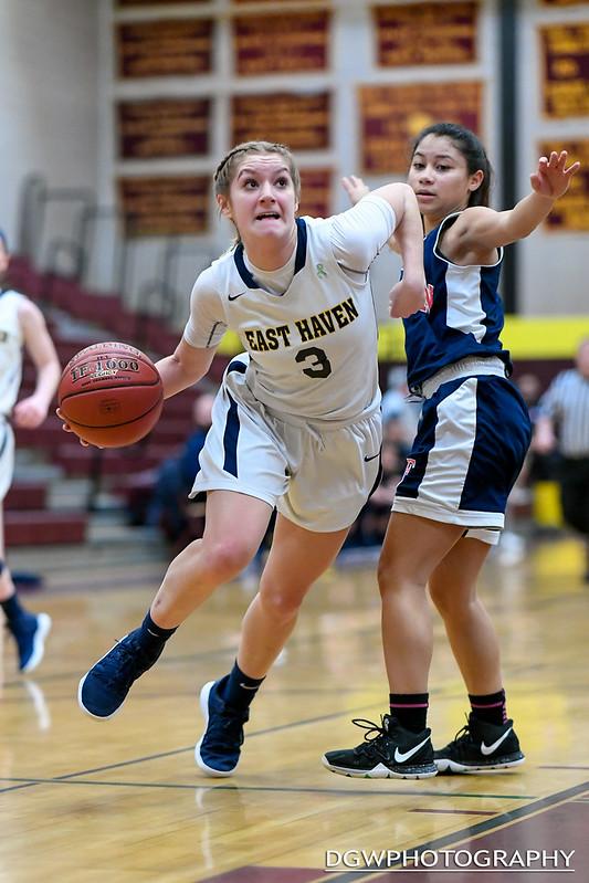 Foran High vs. East Haven - High School Girls Basketball