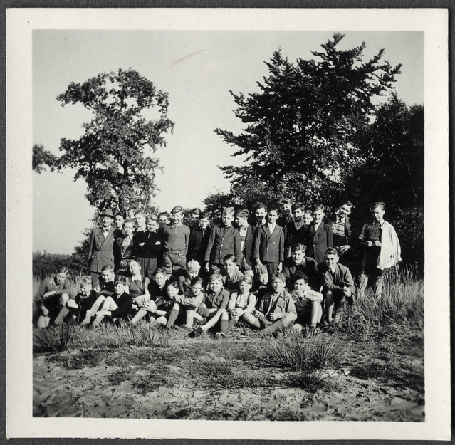 AlbumC161 Klassenausflug, Landfermann Gymnasium Duisburg, 1949