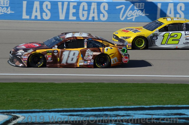 Kyle Busch & Ryan Blaney