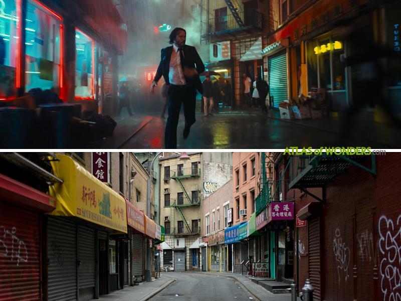 The Chinatown scenery