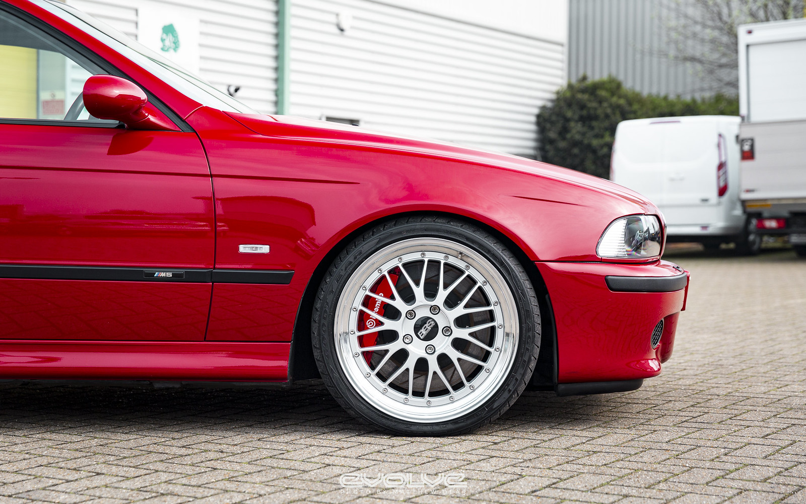 Imola Red E39 M5 Evolve Supercharged - BMW 3-Series and 4