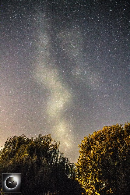 Milky Way from Oxfordshire (Reprocessed) 09/09/17