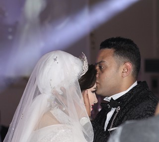 The wedding kiss.. | by Adel Tanahy