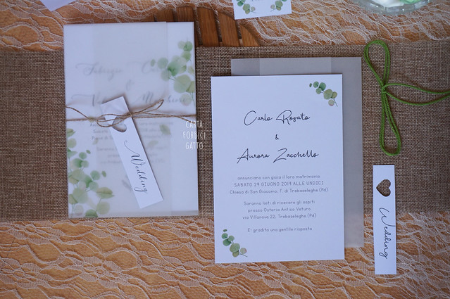 Wedding suite Green Vellum