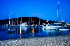 Reflejos marinos en Croacia.
