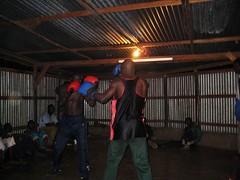 Boxing in Nairobi Slum