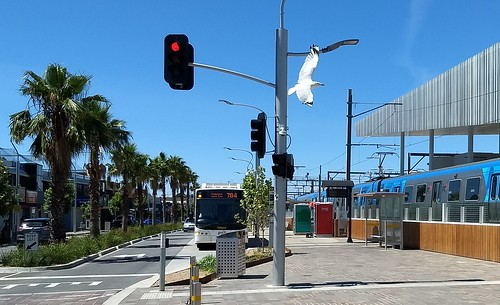Young Street bus terminus, Frankston station | by Daniel Bowen