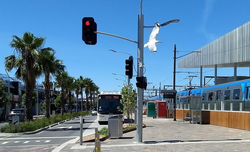 Young Street bus terminus, Frankston station