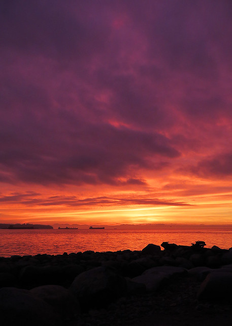 Ambleside Sunset 5:07pm