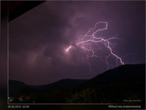 germany badenwürttemberg beuren schwäbischealb gewitter blitz thunderstorm lightning summer violet clouds wolken wetter weather