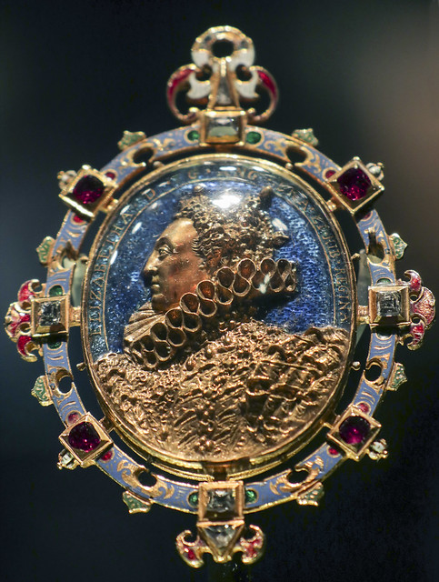 Locket- The Heneage or Armada Jewel,England, about 1595