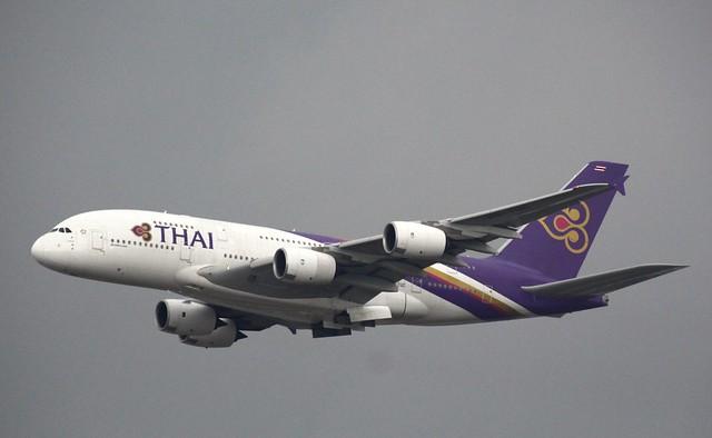 Thai Airways, HS-TUC, MSN 100, Airbus A 380-841, 02.03.2019,  FRA-EDDF, Frankfurt (Named: Chaiya)