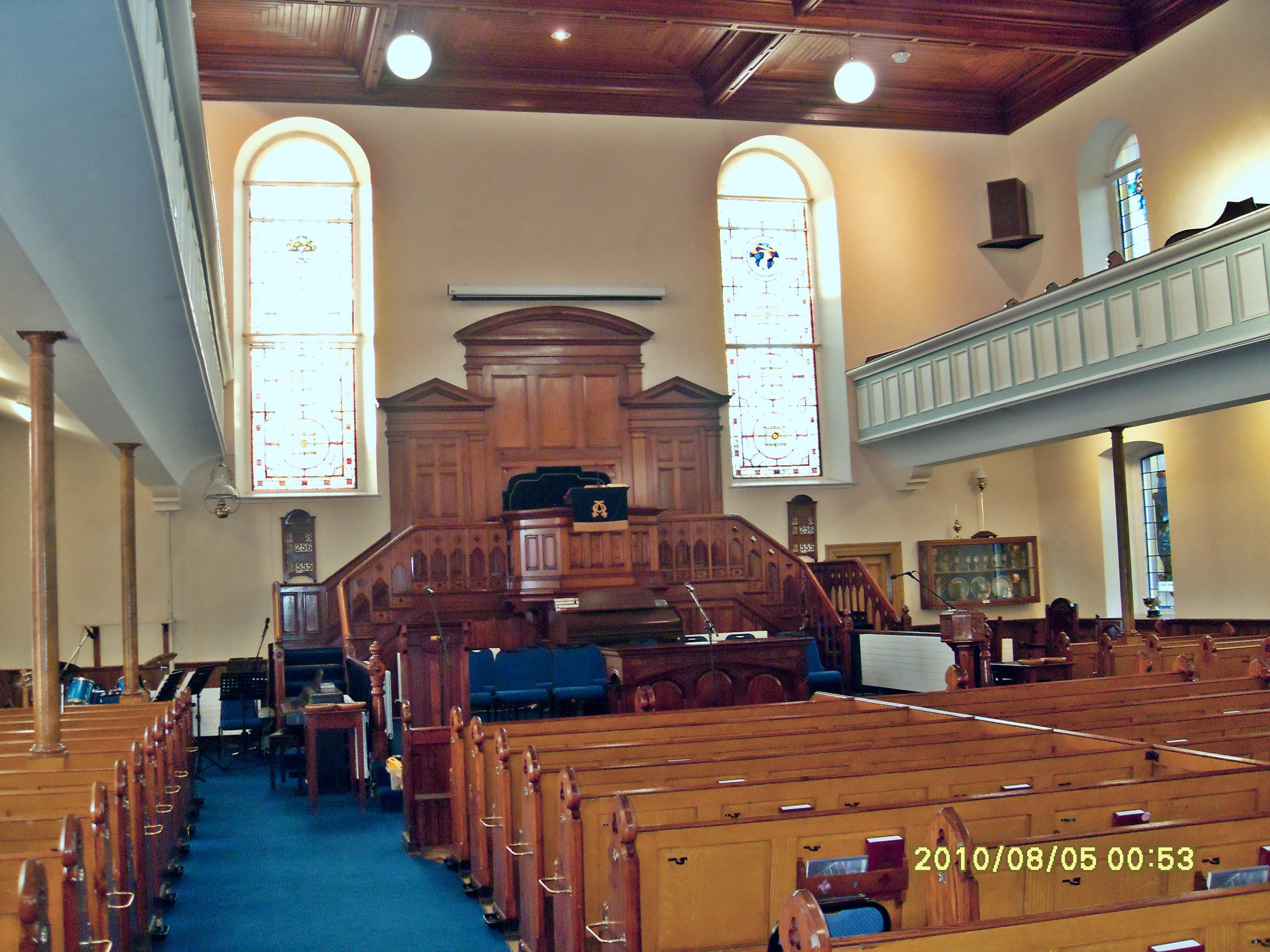 AGHADOWEY, Aghadowey Presbyterian church interior