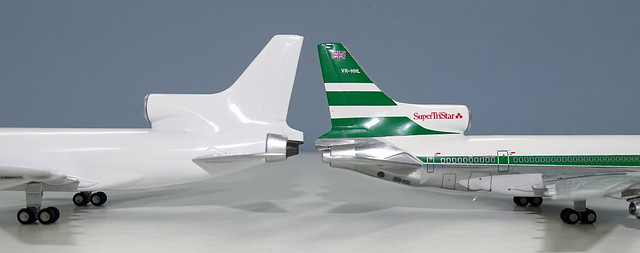 NG Models Lockheed L-1011 Tristar vs JC Wings Tristar