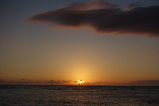Sunset in Waikiki   by Sean Munson