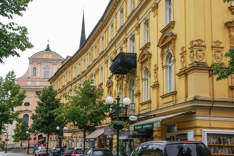 Traditionsbau Hotel zur Post in Bad Ischl