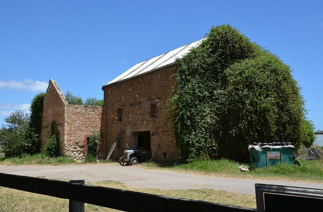 Ruin of the Gorge Flour Mill, Normanville, Fleurieu Peninsula South Australia
