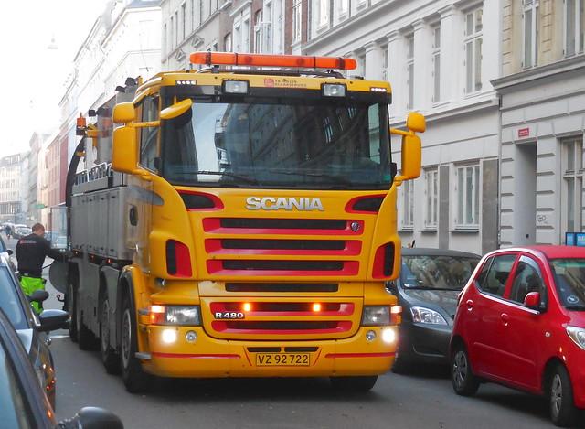 Scania R480 VZ92722 drain cleaner