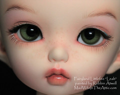 "Fairyland Littlefee ""Leah"" painted by Robbin Atwell"