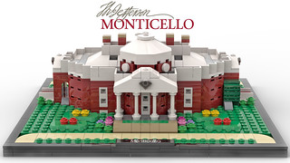 Thomas Jefferson's Monticello (Front)