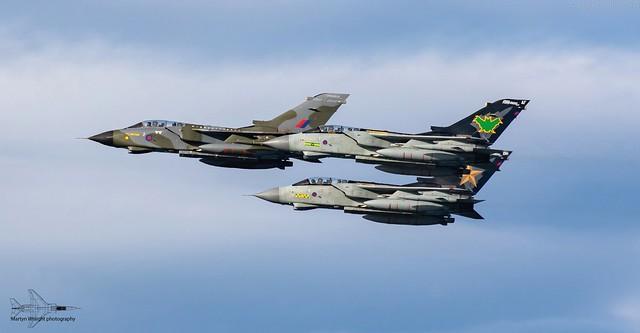 RAF Tornado GR4 farewell flypast - RAF Lossiemouth